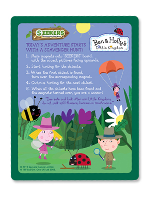 Ben Holly S Little Kingdom Seekers The Magnetic Scavenger Hunt Game