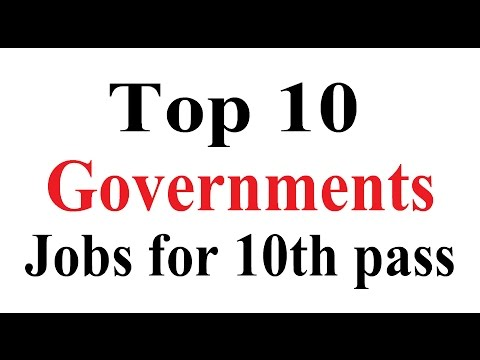 Top 10 Government Jobs for 10th Pass Students - Seekhe