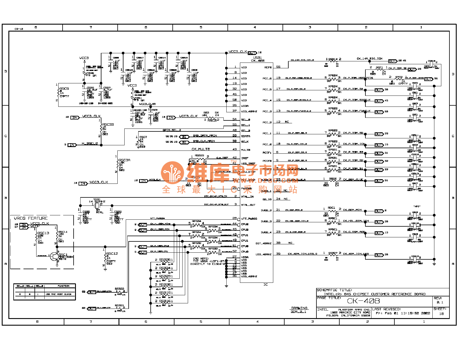 845ddr Computer Motherboard Circuit Diagram 10
