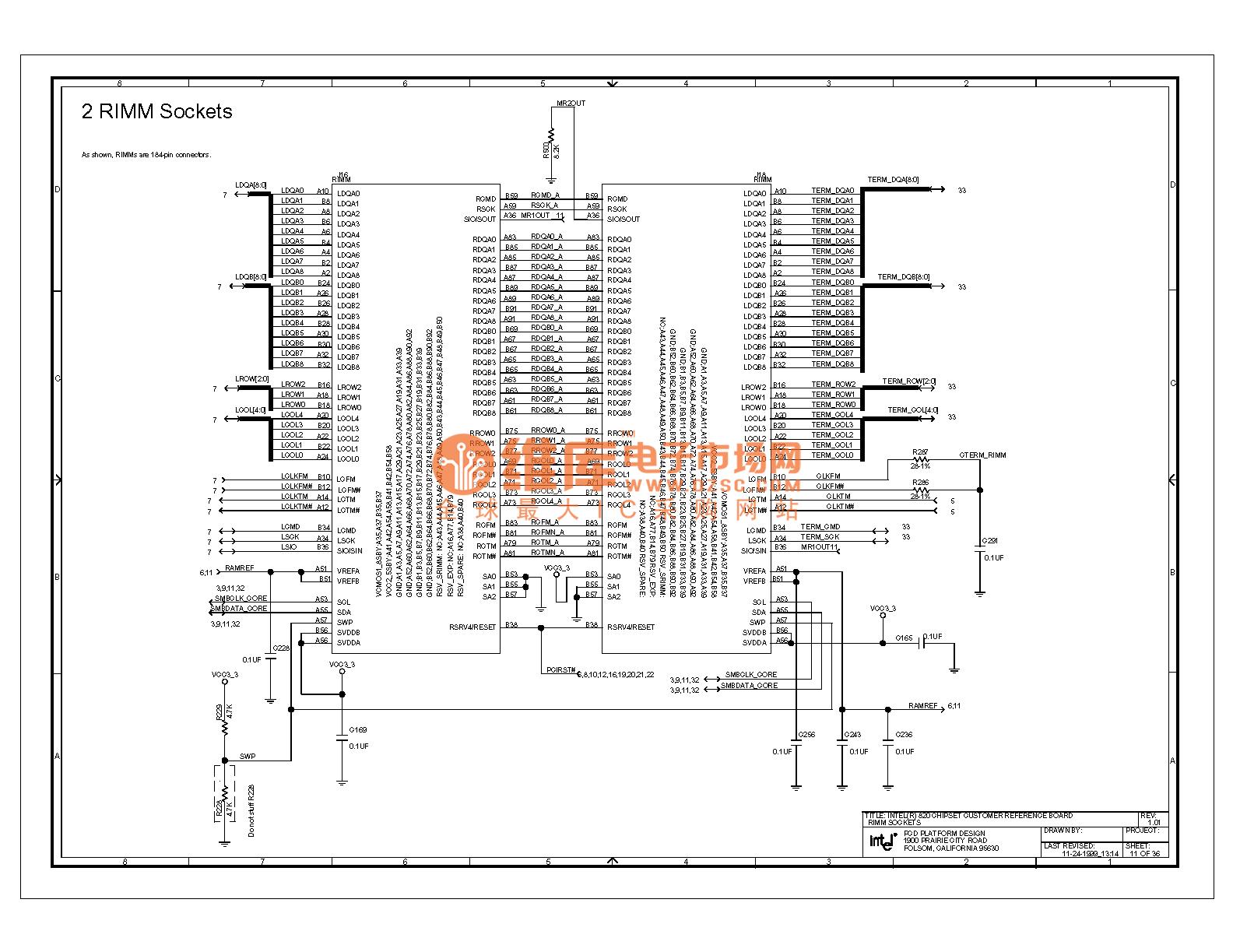820e Computer Motherboard Circuit Diagram 11