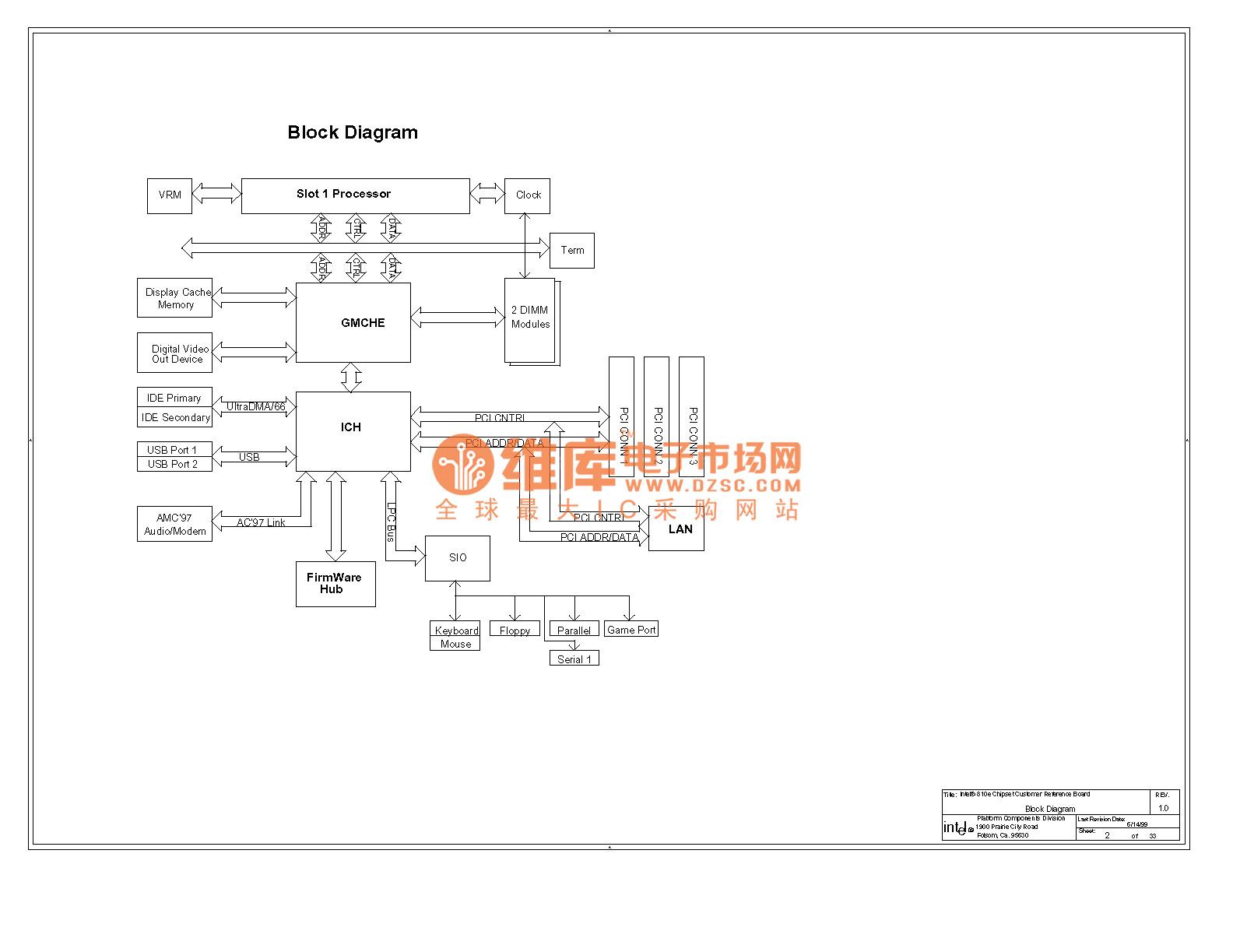 810e Computer Motherboard Circuit Diagram 02
