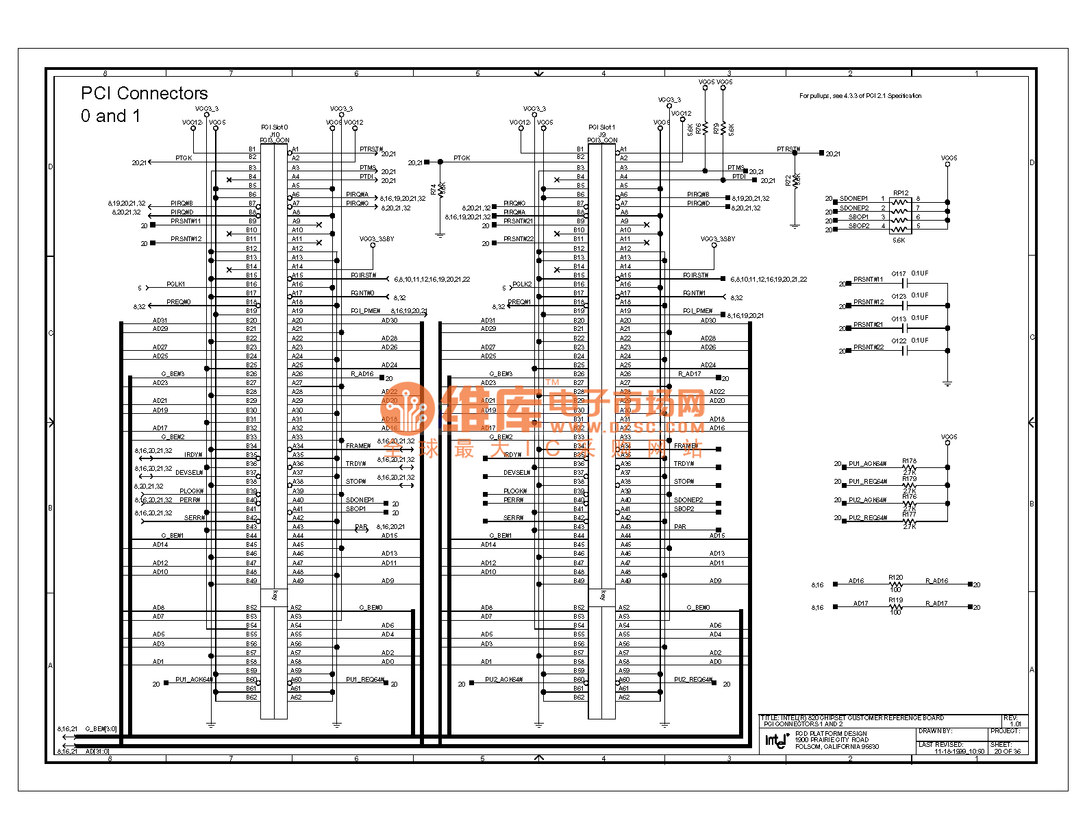 820e Computer Motherboard Circuit Diagram 20