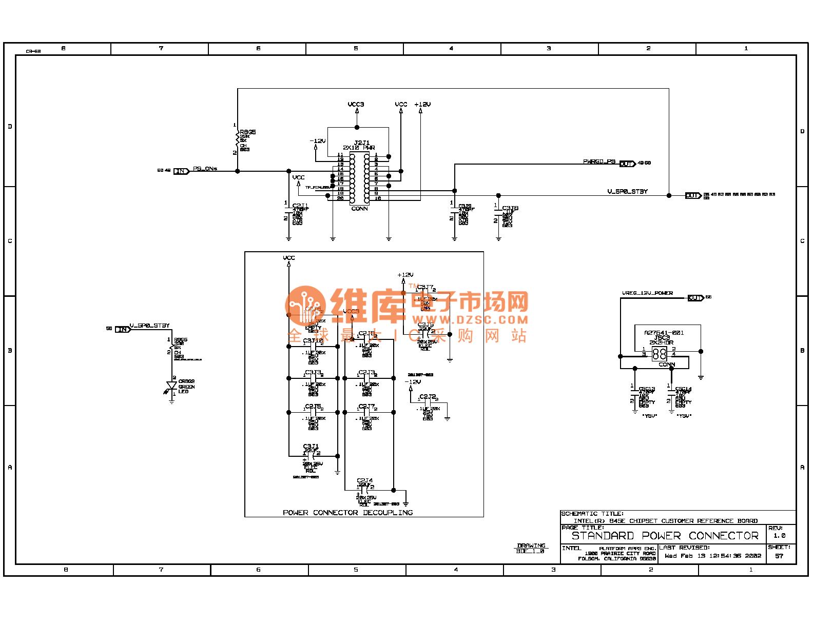 845e Computer Motherboard Circuit Diagram 58