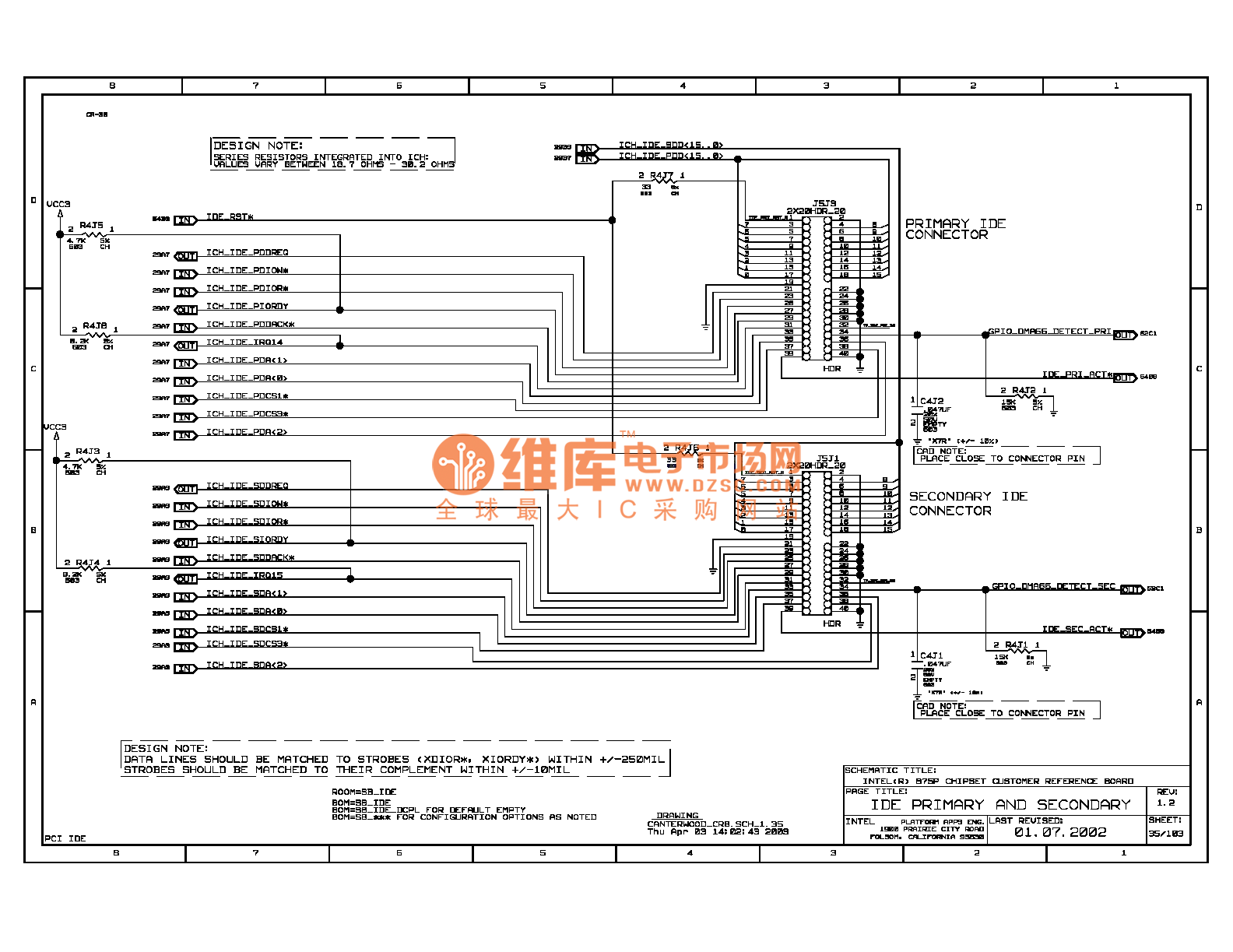 875p Computer Motherboard Circuit Diagram 039