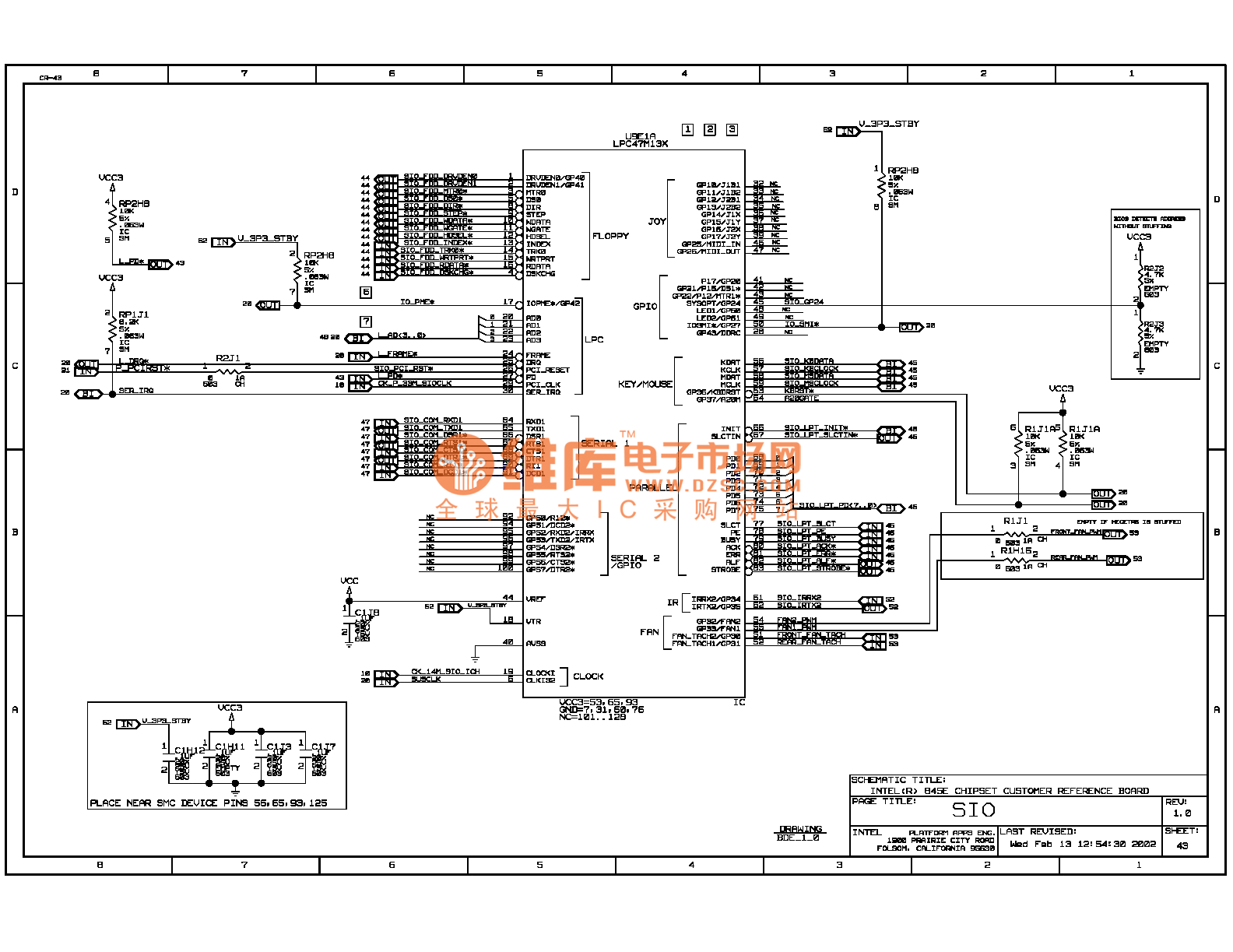 845e Computer Motherboard Circuit Diagram 43