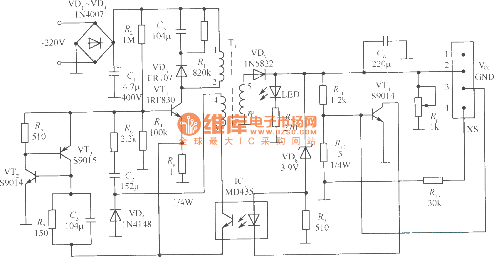 Spn A Charger Circuit Diagram
