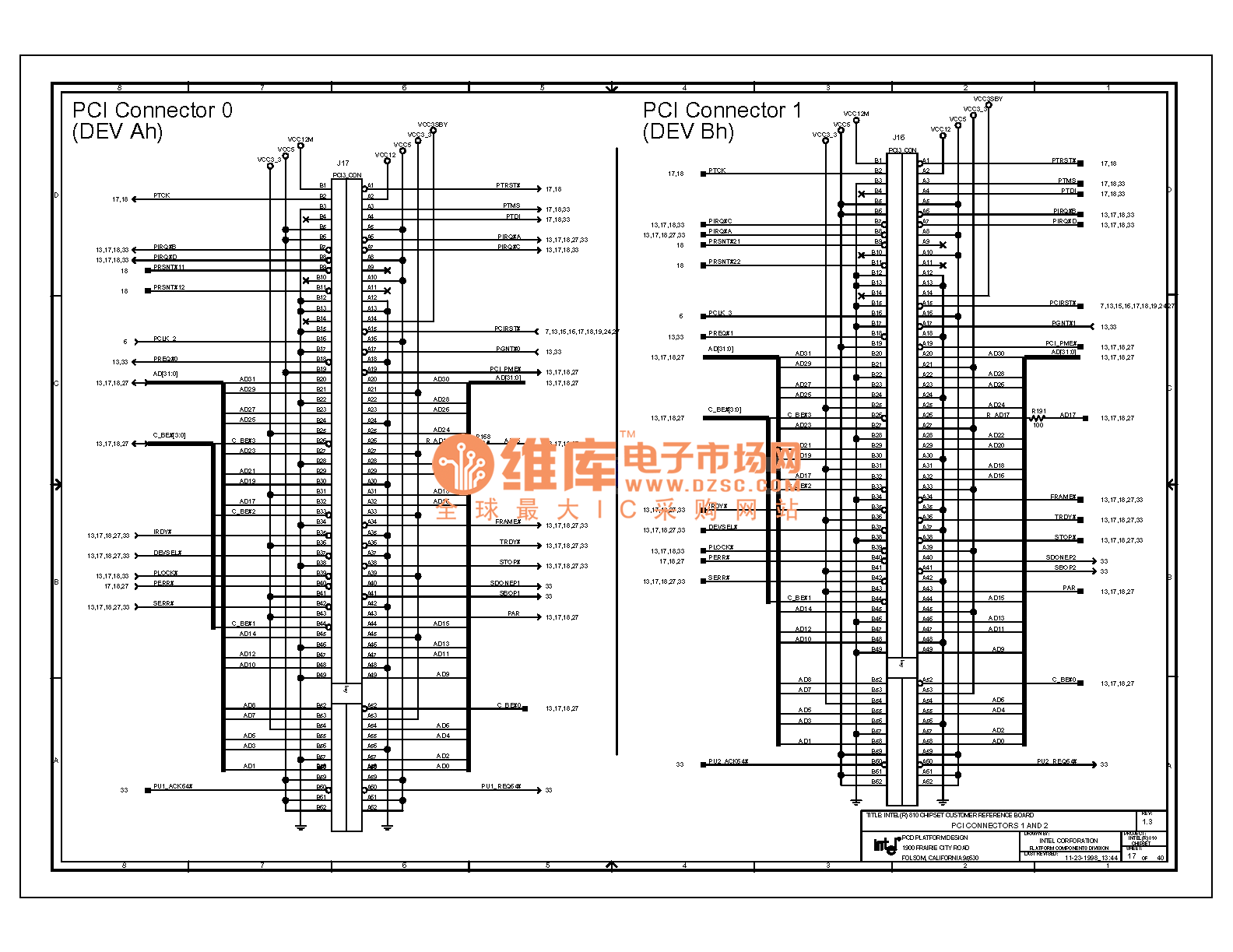 Computer Motherboard Circuit Diagram 810 1 17