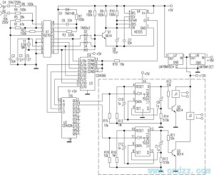 cordless phone as remote controller circuit  Control