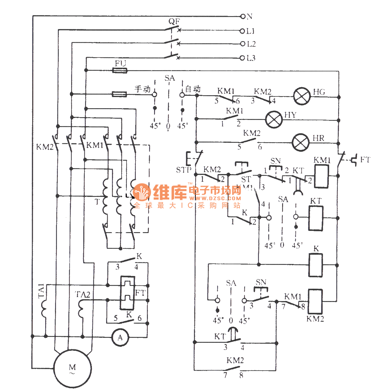 Electrical Control Wiring Diagram