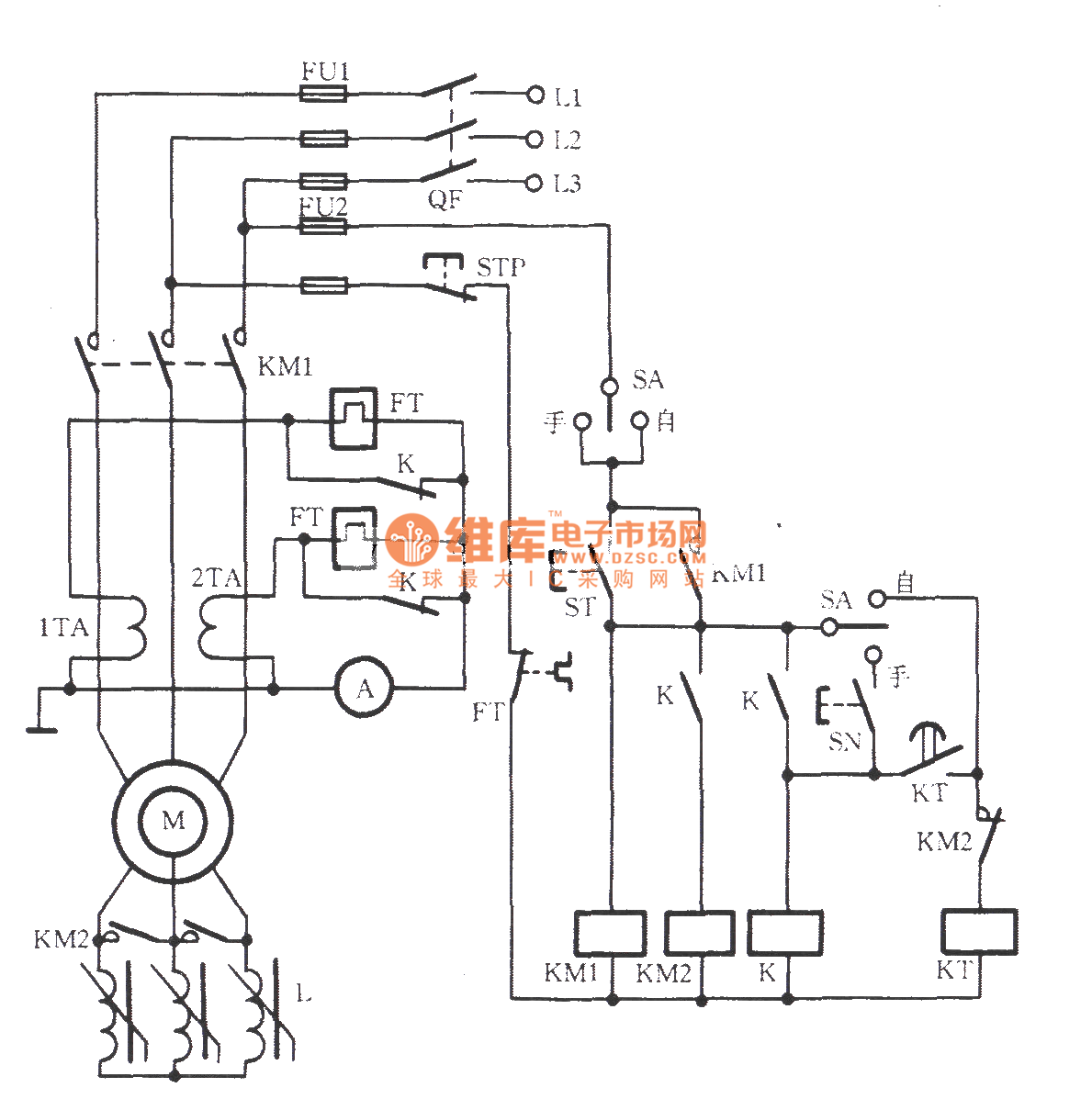 Starting Circuit For Single Phase Induction Motor