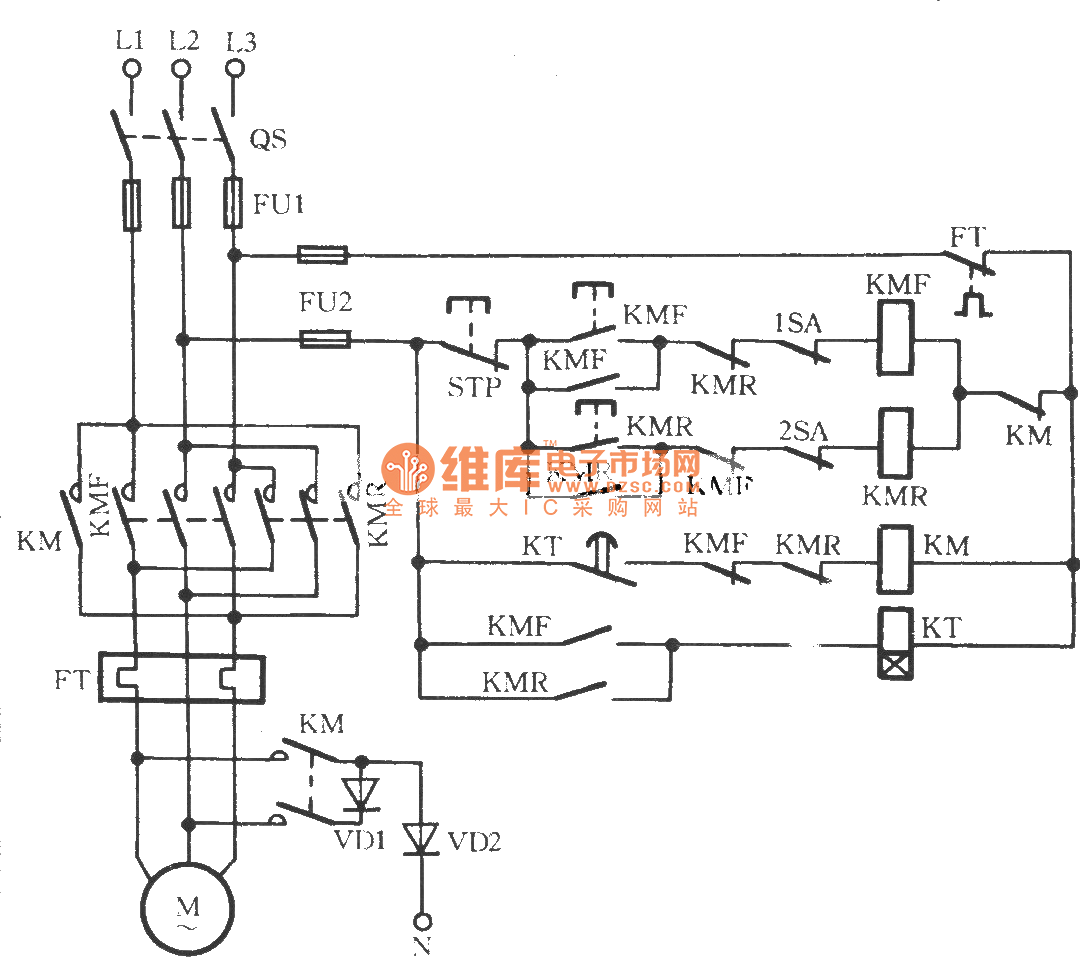 Three Phase Motor Braking Circuit 2