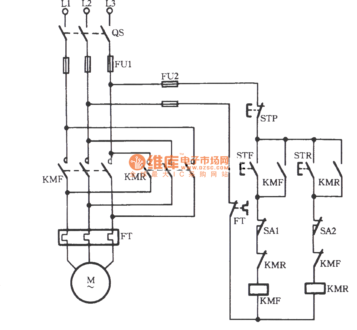 3 Phase Contactor Circuit Diagram