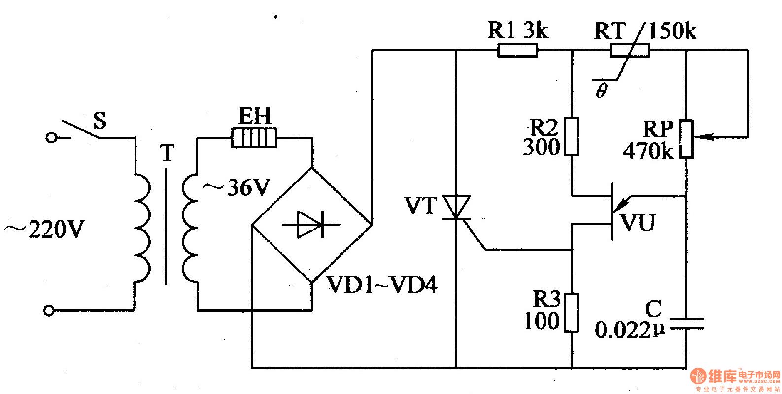 Temperature Controller Schematic