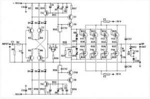 200 Watt MOSFET Amplifier  Amplifier_Circuit  Circuit
