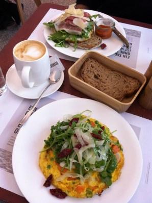 Joseph Brot breakfast