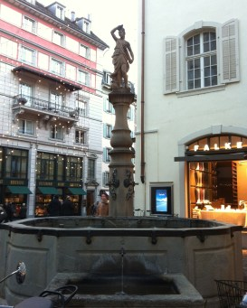 First Zurich Wate Fountain