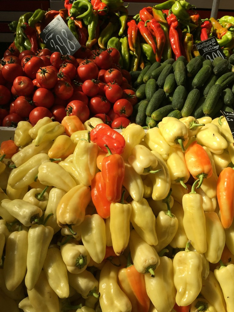 Rakoszi Market vegetables