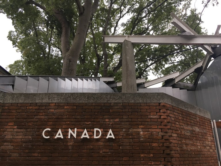 Canadian pavilion at the architecture biennale