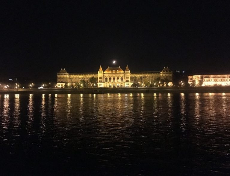 BME University on the banks of the Danube, Budapest, Hungary