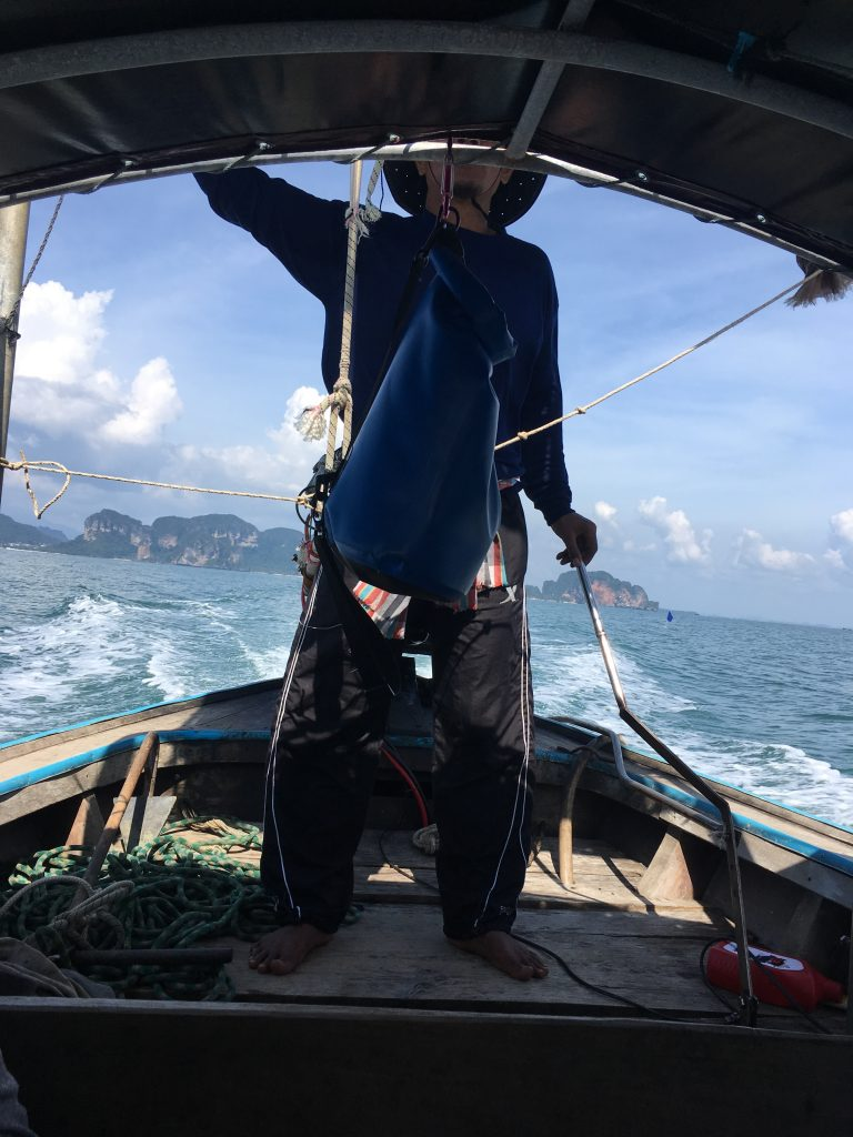 BaseCamp Ton Sai boat tour