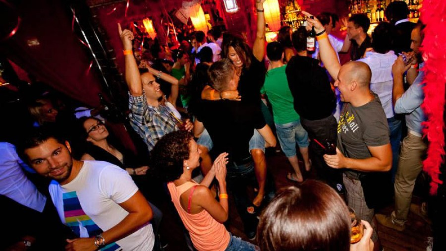 Prague pub crawl stop at Bombay bar