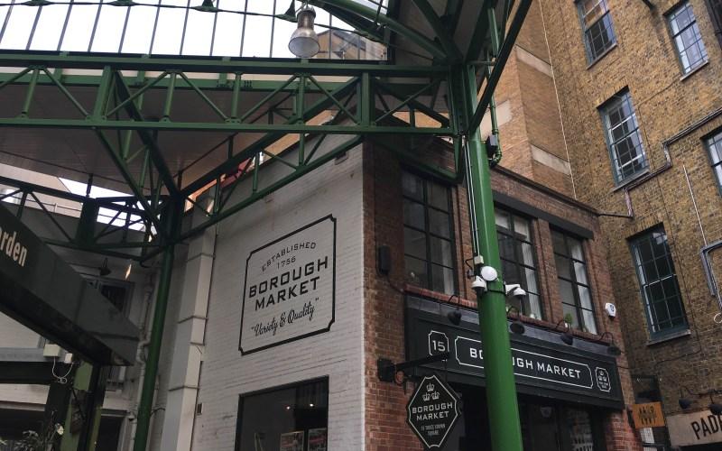 guide to london markets, london borough market