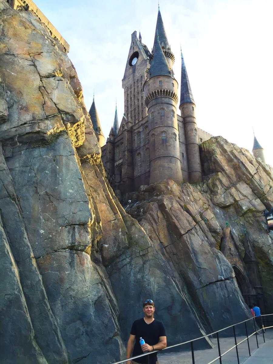 Instagram worthy spots at Harry Potter World- Hogwarts