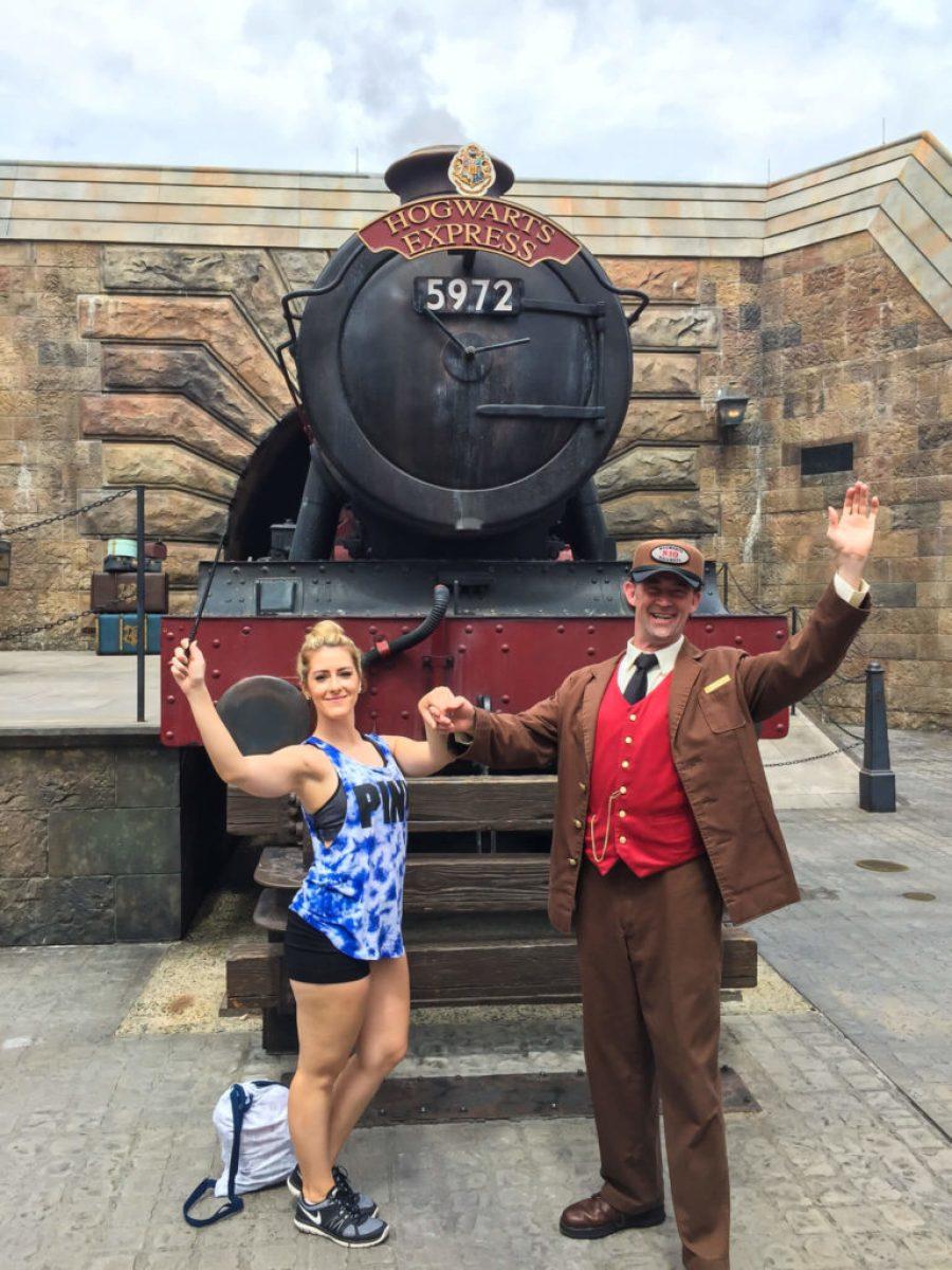 Instagram worthy spots at Harry Potter World - Hogwarts Express