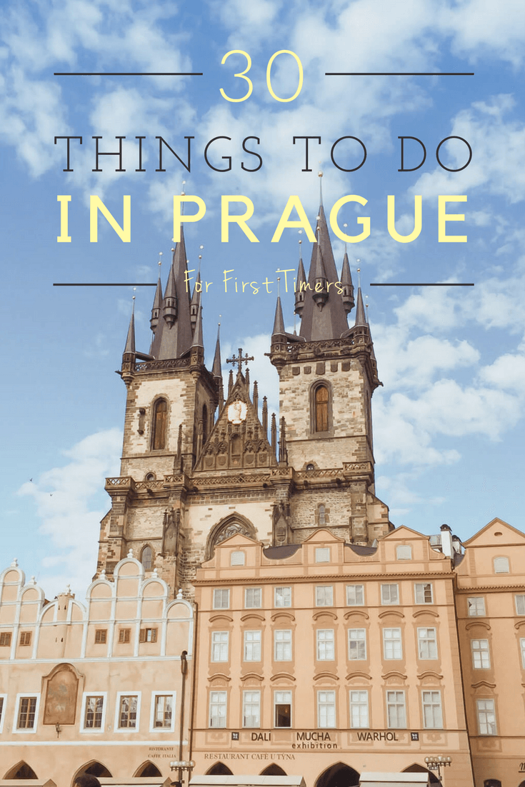 30 best things to do in prague