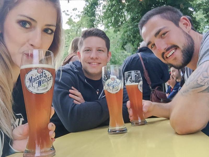 best beer gardens in berlin at night