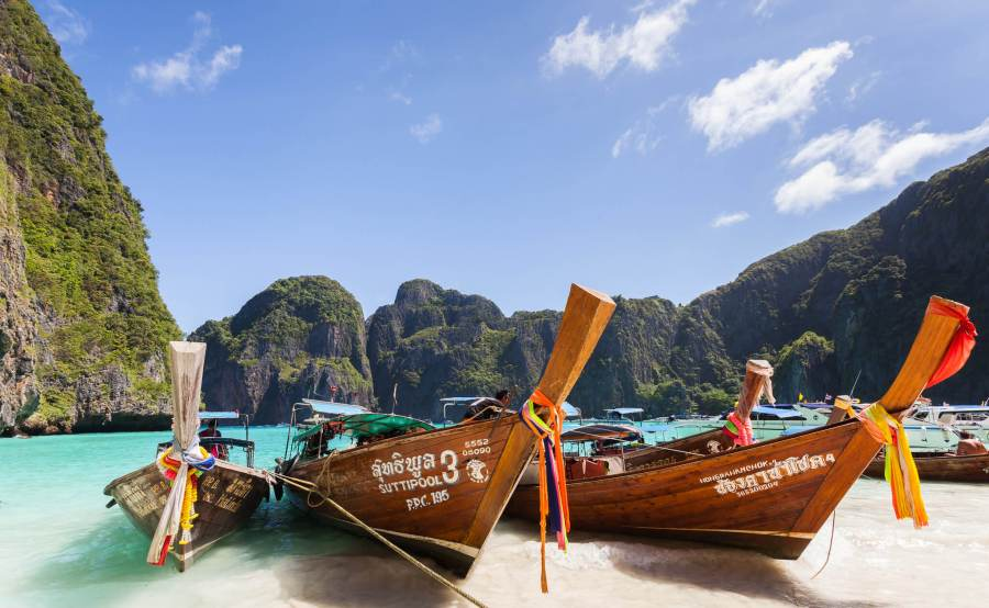 best islands in thailand, koh phi phi