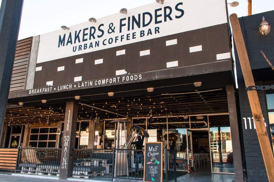 coffee shops las vegas - makers & finders