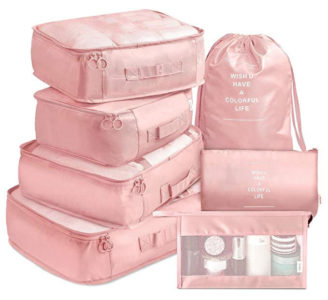 packing organizers and storage for frequent travelers