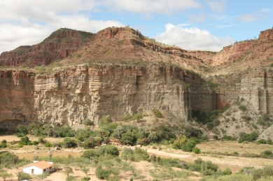 Breeding Cliff at the Red-fronted Macaw Reserve