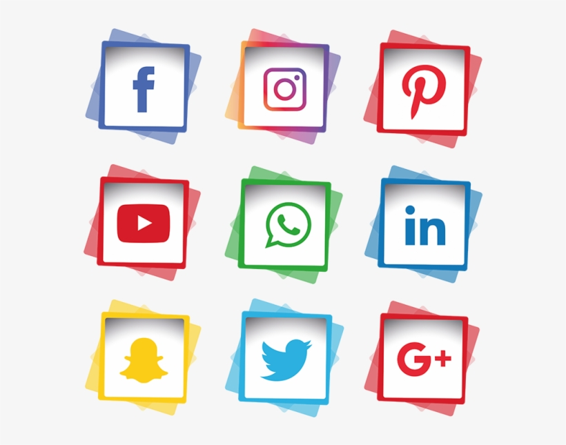 Social Media Icons Set Social Media Icon Png And Social Media Logo White Png Png Image Transparent Png Free Download On Seekpng