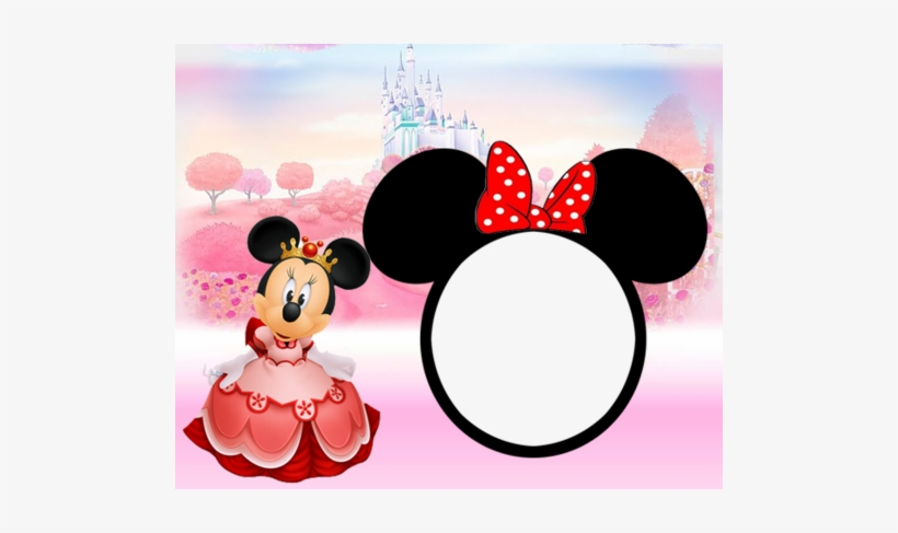 Minnie Mouse 1st Birthday Invitation 1st Birthday Minnie Mouse Background Png Image Transparent Png Free Download On Seekpng