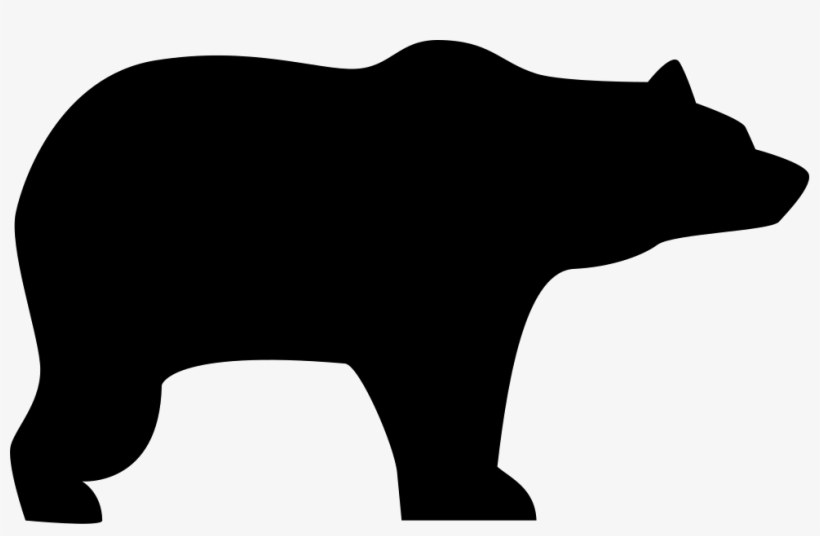 Download Bear Silhouette - Free Bear Svg File PNG Image ...