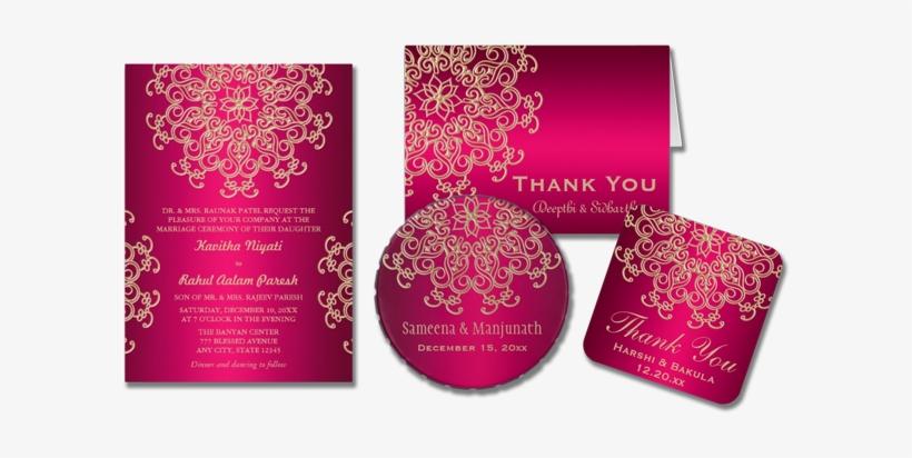 modern indian wedding cards design png