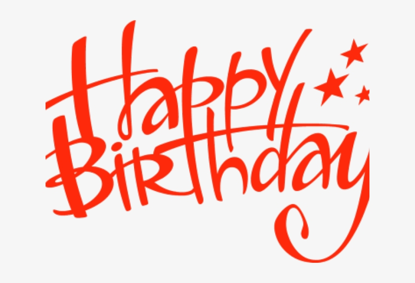Happy Birthday Transparent Clipart Png Image Transparent Png Free Download On Seekpng