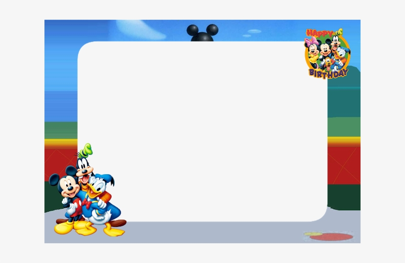 Mickey Mouse Birthday Png Images Png Cliparts Free Download On Seekpng