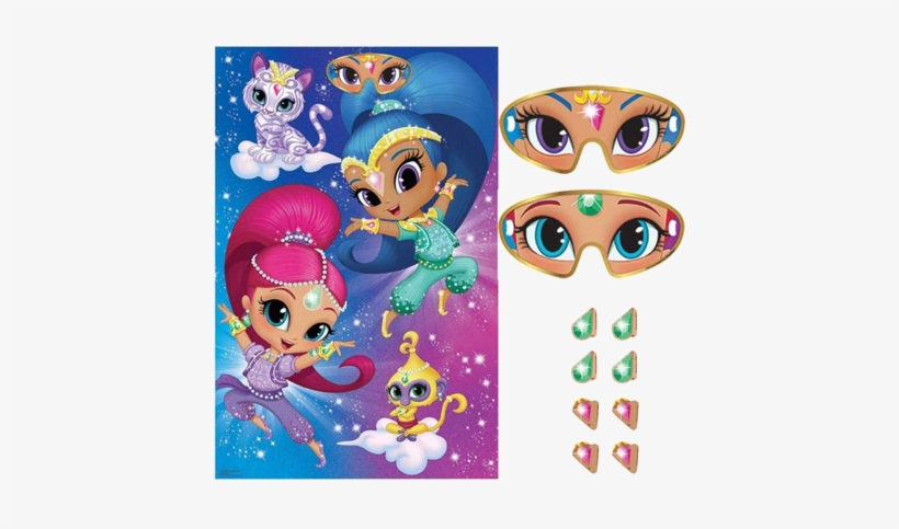 Shimmer And Shine Party Game Shimmer And Shine Party Games Png Image Transparent Png Free Download On Seekpng