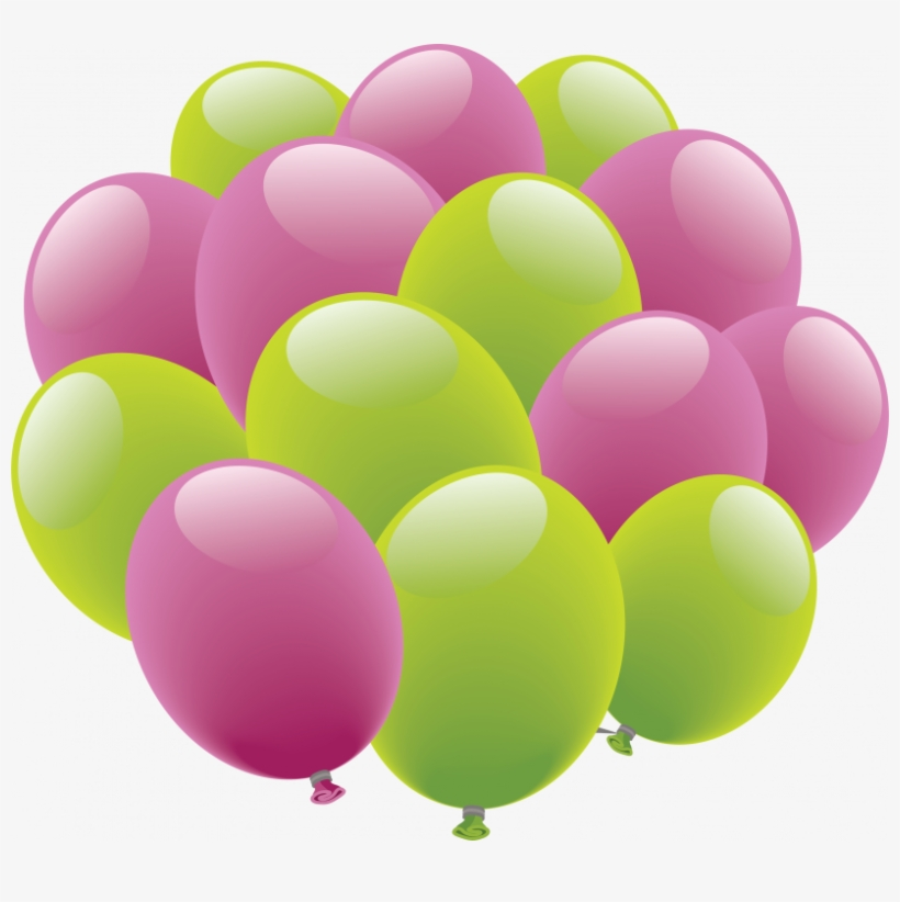 Happy Birthday Aka Pink Green Png Image Transparent Png Free Download On Seekpng