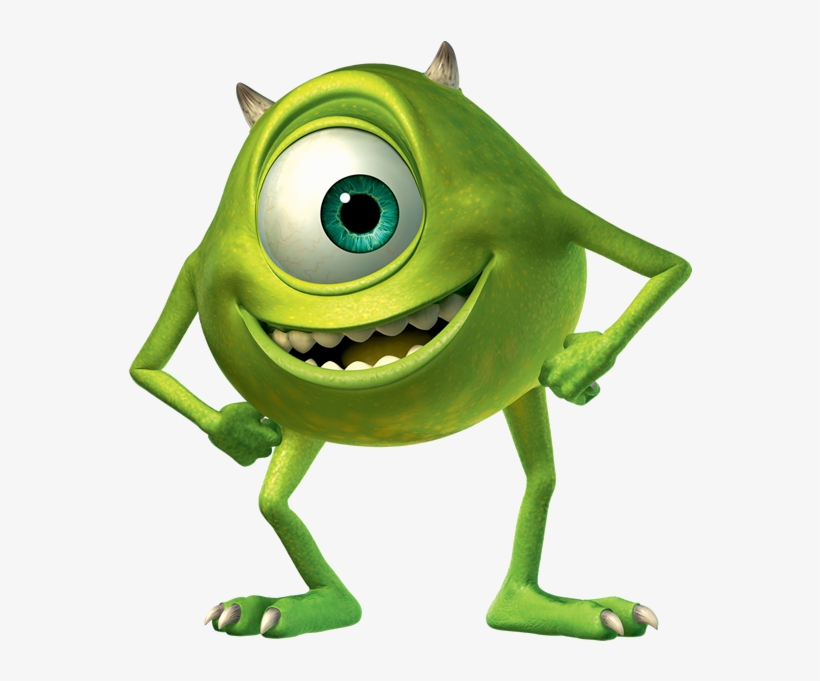 Mike From Monsters Inc Mike Wazowski Png Image Transparent Png Free Download On Seekpng