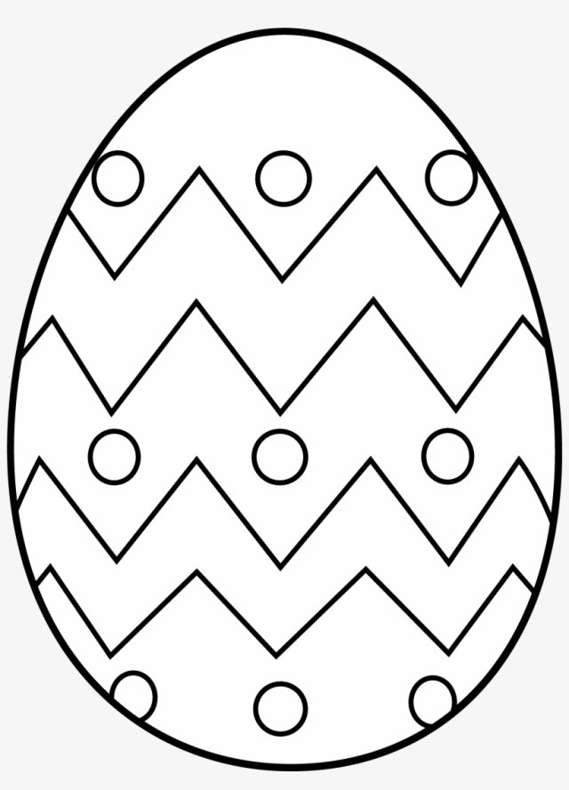 Coloring Pages Of Easter Eggs And Bunnies Egg Hunt - Easter Egg