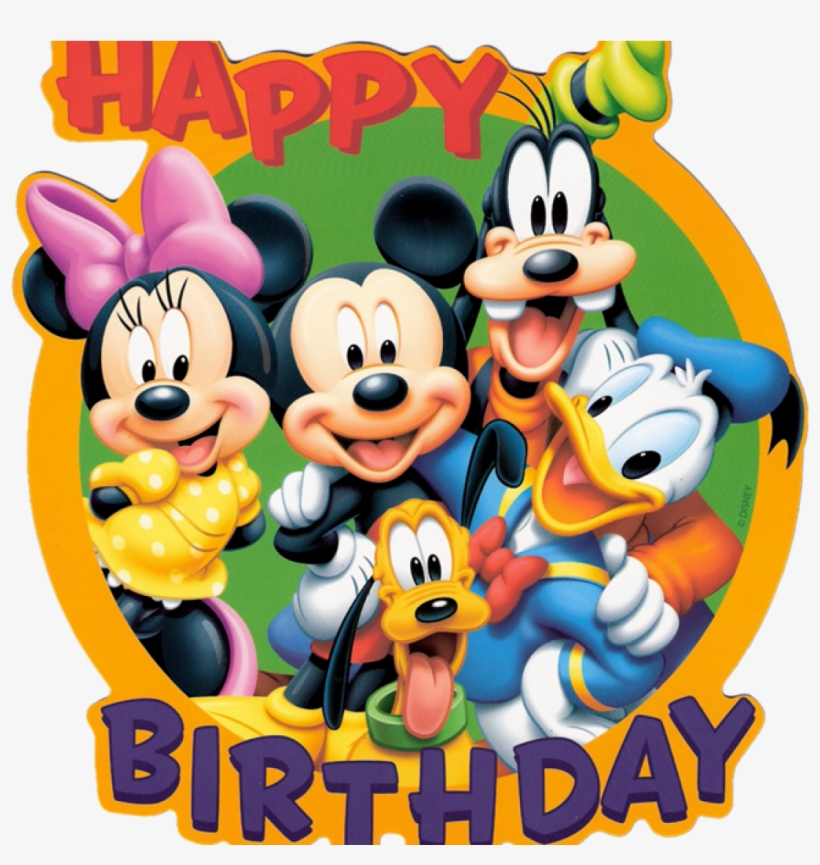 Mickey Mouse Birthday Pictures Disneys Is The Best Mickey Mouse Happy Birthday Png Image Transparent Png Free Download On Seekpng