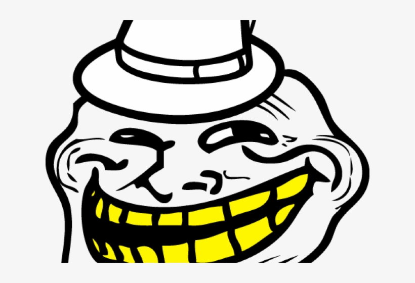Trollface Clipart Troll Face Png Image Transparent Png Free