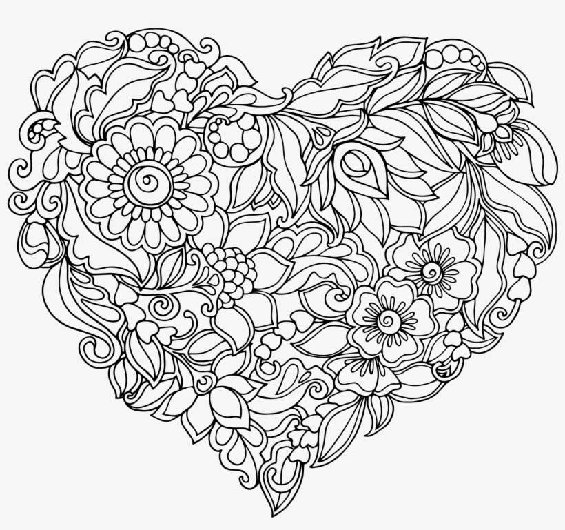 Download Download Royalty Free Library Heart Shaped Pattern ...