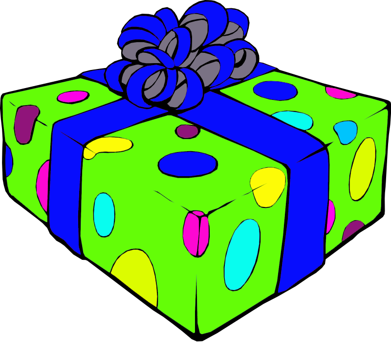 800 X 699 2 Birthday Presents Clip Art Full Size Png Download Seekpng