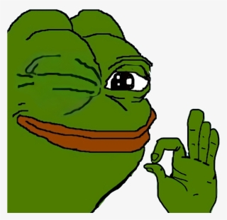 Poggers Emote Pepe The Frog Ok Png Image Transparent Png Free