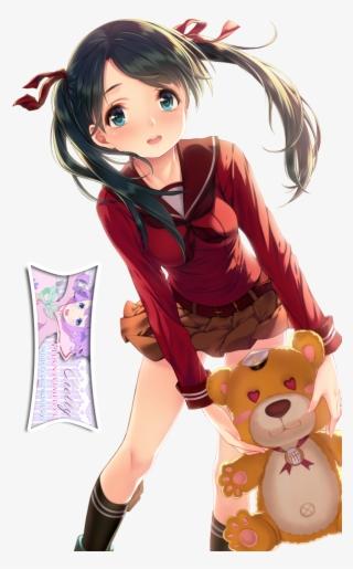 Aesthetic Anime Girl With Short Black Hair Ala Model Kini
